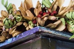 Verblassene Blumen Stockbild