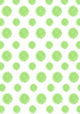 Verblassene grüne Blüten Lizenzfreie Stockfotos