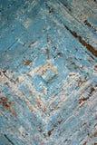 Verblassener hölzerner Fußboden Stockfoto