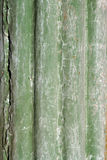 Verbleek - groene metaalachtergrond Stock Fotografie