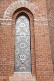 Verbleites Kirche-Fenster Stockfotos