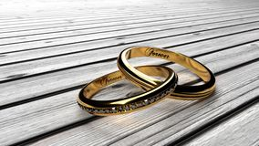 Verblijf voor altijd samen, eeuwige liefde en eeuwige verhoudingen vector illustratie