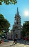 Verbo Encarnado和Sagrada Familia帕里什在罗马Norte, Mexi 库存照片