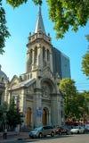 Verbo Encarnado e Sagrada Familia Parrish em Roma Norte, Mexi Fotografia de Stock Royalty Free