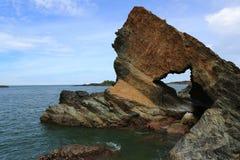 Verbod-dan klip - eiland tam-Hai - Vietnam stock afbeeldingen