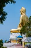VERBOD KRUT, PRACHUAP KHIRI KHAN, THAILAND - APRIL 26: achtermening van stock afbeelding