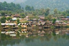 Verbod Rak Thai, een Chinese nederzetting in Thailand Royalty-vrije Stock Fotografie