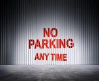 Verbod van parkeren stock foto's