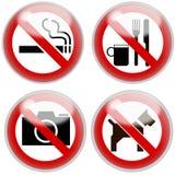 Verboden Stock Afbeeldingen