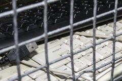 Verboden en beperkingen op Internet royalty-vrije stock foto's