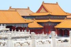 Verboden Paleis in Peking Royalty-vrije Stock Foto