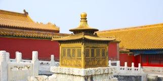 Verboden stad, China stock fotografie
