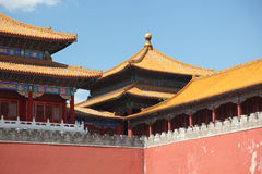Verboden Stad, Peking Royalty-vrije Stock Foto