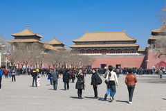 Verboden Stad Peking stock fotografie