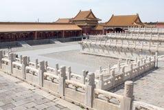 Verboden Stad, Peking stock foto