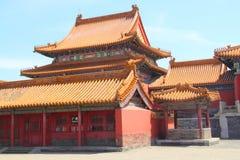 Verboden stad in Peking Royalty-vrije Stock Fotografie
