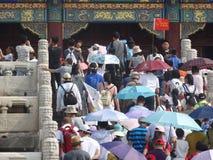 Verboden Stad, Peking, China royalty-vrije stock fotografie