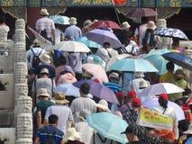 Verboden Stad, Peking, China stock fotografie
