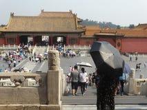 Verboden Stad, Peking, China stock afbeeldingen