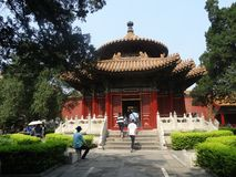 Verboden Stad, Peking, China royalty-vrije stock foto's
