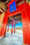 Verboden Stad in Peking China stock fotografie