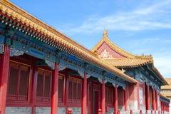 Verboden stad in Peking, China Royalty-vrije Stock Afbeeldingen