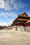 Verboden Stad Peking China stock foto's
