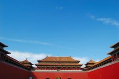 Verboden stad, Peking China Royalty-vrije Stock Foto's