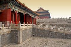 Verboden Stad, Peking, China royalty-vrije stock afbeelding