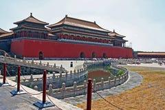 Verboden Stad in Peking, China Royalty-vrije Stock Afbeelding