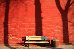 Verboden stad rode muur Stock Foto
