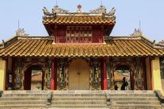 Verboden stad, Tint, Vietnam royalty-vrije stock foto's
