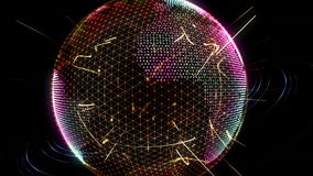 Verbonden aarde vector illustratie