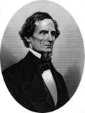 Verbonden politieke leider Jefferson Davis stock illustratie