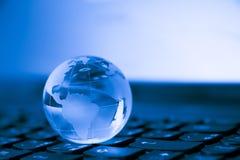 Verbonden wereld Sociaal netwerkconcept royalty-vrije stock foto