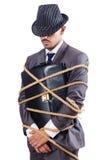Verbonden zakenman Stock Fotografie