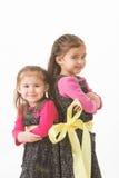 Verbonden zusters stock foto