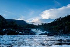 Verborgen Dalingen van de Wildernis van Amazonië stock foto's