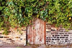 Verborgen deur Royalty-vrije Stock Afbeeldingen