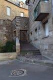 Verborgen hoek van Heilige Malo Stock Fotografie