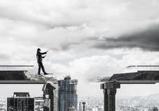 Verborgen risico's en gevarenconcept Stock Foto's