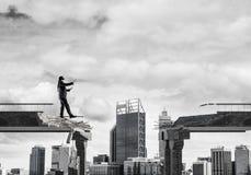 Verborgen risico's en gevarenconcept Stock Fotografie