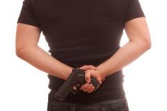 Verborgene Gewehr Stockfotos