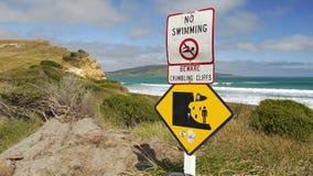 Verbot auf dem Verbieten eines Zeichens Stockfotografie