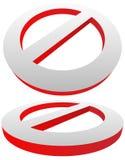 Verbot, Beschränkungszeichen Rot kein Eintritt, tragen nicht Zeichen ein Stockfotos