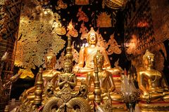 Verbot Den Temple (Wat Ban Den) Lizenzfreies Stockfoto