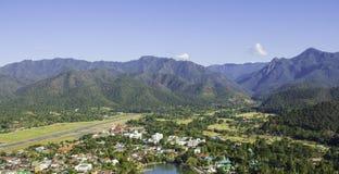 Verbot ruk thailändisches altes Dorf in Thailand Lizenzfreies Stockfoto