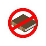 Verbotbildung Stoppen Sie gelesen Es ist zum Unterricht verboten Rotes PROHI vektor abbildung