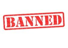 verboten lizenzfreies stockbild
