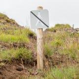 Verboten, um hierhin zu gehen - Island Stockfotos
